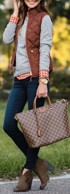 Fall Outfit With Rustic Colors