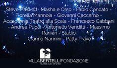 IV Estate a Villa Bertelli - Festival della grande Musica d'Autore e del Teatro a Forte dei Marmi dal 16 luglio al 18 Agisto
