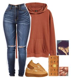 """Untitled #585"" by bosslanaia on Polyvore featuring H&M, MCM and Puma"