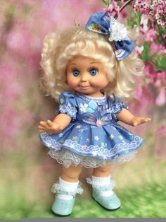 Одноклассники - Galoob baby face doll