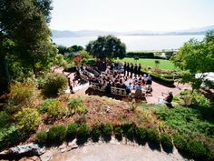 Landmarks Art and Garden Center Tiburon Wedding Location Garden Weddings Marin 94920