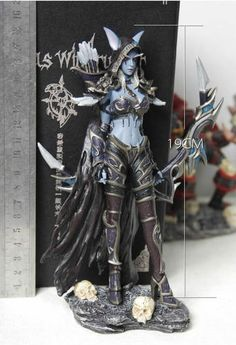 "World of Warcraft Sylvanas Windrunner Forsaken Queen 7"" Resin Limited Figure"