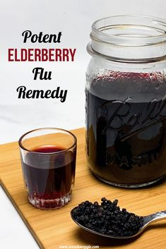 Mar 2020 - This vegan elderberry syrup recipe is made with just 3 ingredients and one pot! If you are looking for how to make elderberry syrup, it doesn't get easier! Elderberry Syrup Recipe Vegan, Elderberry Juice, Elderberry Medicine, Elderberry Benefits, Flu Remedies, Herbal Remedies, Herbal Tinctures, Herbalism, Herbs For Health