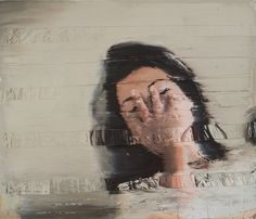 Blurred Lines: Seductive oil paintings with a deliberate glitch by Andy Denzler   Creative Boom