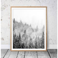 Alpine Forest Print, Scandi Wall Art, Landscape Photography,... ($5.77) ❤ liked on Polyvore featuring home, home decor, wall art, landscape wall art, black and white photography wall art, scandinavian wall art, black and white wall art and photographic wall art
