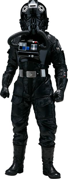 TIE Pilot Sixth Scale Figure