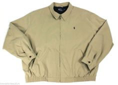 Polo Golf Ralph Lauren Microfiber Repellent Windbreaker Jacket Men's 2XL XXL #PoloRalphLauren #PoloGolfJacket SOLD!