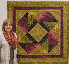Jinny and her Delhi quilt