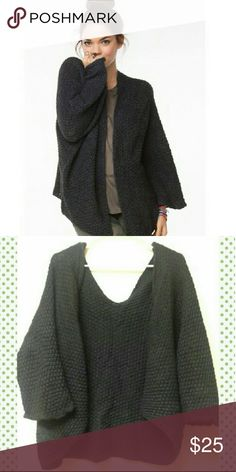Brandy black Voltaire Good condition, rare cardigan. Super soft!  One size Brandy Melville Sweaters Cardigans