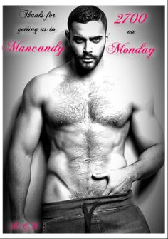 Mancandy Monday at Red Cheeks Reads