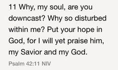 Psalm 42:11 (NIV)