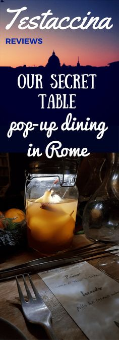 Pop-up dining in Rome is now officially a thing. Talea Events' our secret table, #oursecrettable, is setting new standards for secret restaurants in Rome.