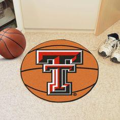 Texas Tech Basketball Mat 27 diameter