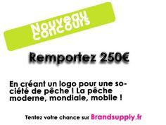 Nouveau concours sur brandsuupply pour 250€ ! Suivez ce lien ! http://www.brandsupply.fr/design_logo_identite_entreprise/la-peche-moderne-mondiale-mouvante-/26671