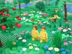 Les histoires de la bible en LEGO | Retrouvez toutes les histoires de la bible ilustrées avec des photos de LEGO. Lien du siteIl est possible de télécharger les images et en faire un power point