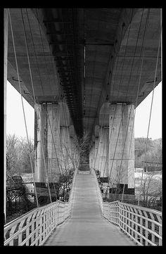 Walking bridge to Belle Isle!