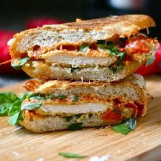 Chicken Parmesan Grilled Cheese: We can use those breaded chicken breasts from Aldi