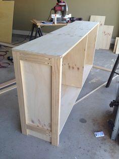 Sideboard selber bauen stein  TV-Bank selber bauen | hacer muebles | Pinterest | TVs, Woodworking ...