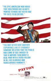 """""""Patton"""" / Director: Franklin J. Schaffner / Writers: Francis Ford Coppola (screen story and screenplay), Edmund H. North (screen story and screenplay) / Stars: George C. Academy Award Winners, Academy Awards, Oscar Winners, Siegfried Rauch, Les Oscars, Best Picture Winners, The Blues Brothers, War Film, Movie Posters"""