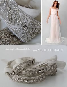 wedding belts: Achieve with Preciosa Sew-On diamantes and Pointback Montee shapes @http://www.rhinestonz.co.nz/cart/index.php?catid=257