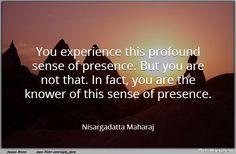 nisargadatta maharaj quotes - Google Search