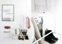 Create some Parisian chic at home {coat racks}