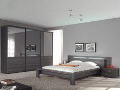 miguel - moderne en stijvolle slaapkamer vervaardigd uit, Deco ideeën