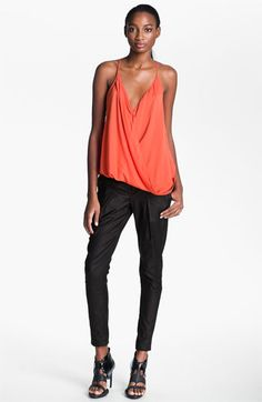 Helmut Lang 'Oasis' Overlap Tank available at #Nordstrom