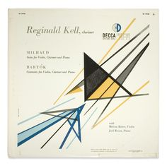 Erik Nitsche...Suite/Contrasts for Violin, Clarinet, and Piano record sleeve