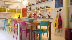 cozinhas coloridas moderna - Pesquisa Google