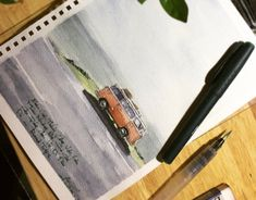 Watercolor Sketch, Behance, Drawing, Gallery, Check, Pictures, Photos, Roof Rack, Sketch