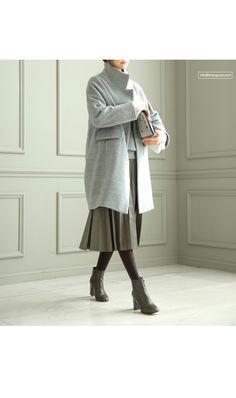 馬頭貼布點綴合身羊毛針織衫 | SZ BY SZ 韩国sz總公司★台灣官網 SHEZGOOD