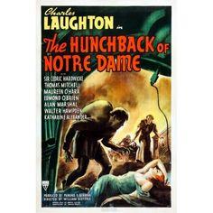 Hunchback of Notre Dame - Vintage Movie Poster 18x24 inch