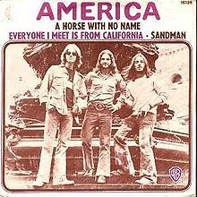 "America...the first song I taught myself on guitar was ""Horse with No Name"""