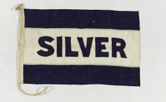 House flag, Silver Line Ltd - National Maritime Museum