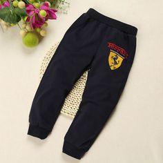 Boys Pants Boy Spring Autumn Car Print Pant 100% Cotton Pants for Boys Nova Kids Trousers for Boy