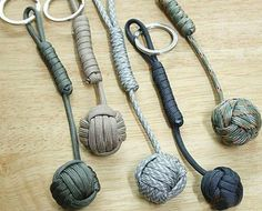 Paracord Self Defense Keychain Ultimate Survival Tool