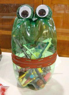 Basteln mit Plastikflaschen - 25 Ideen #Basteln #mit #Plastikflaschen #- #25 #Ideen
