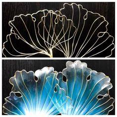 いいね!45件、コメント2件 ― Hana Scibettaさん(@hanascibetta)のInstagramアカウント: 「New petals in the making: before resin, after resin. hanascibetta.com #handmade #jewelry…」