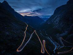 Trollstigen, Andalsnes,  Norway