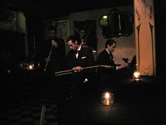 Bar Sur in San Telmo Buenos Aires is tres romantique!  The perfect place to learn the tango.    Photo by Vi Rowshankish