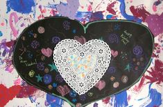 Each year, I tend to try something different for Valentine's Day.  I like to spice things up, don't you? Here are some from the past that I have done. 1.  Valentine's Heart Collages  2.  Cool Hands, Warm Heart 3.  Easy Clay Hearts for Kindergarten  I have made these for Christmas presents, but they would be perfect for Valentine's Day. 4.  Maps of My Heart (by Kindergarten) 5.   Styrofoam Printed Valentines Follow @marcia_beckett Related