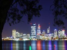 Dazzling city skylines: Perth, Australia