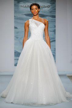 One Shoulder Wedding Dress | Future | Pinterest | Wedding Dress, Shoulder  And Weddings