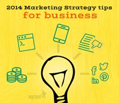 2014 Marketing Strategy tips for business  1. Develop a realistic marketing budget  2. Build a simple and effective website  3. Ensure your website is mobile optimized  4. Manage your online negative reviews  5. Build an engaging social media presence