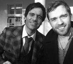 Ramin Karimloo and Hadley Fraser, LOVE both of these guys in Phantom of the Opera 25th Anniversary