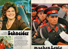 Фотографии группы советских войск в Германии.                                            Снимки с сайта Назад в СССР