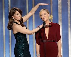 Amy and Tina are the Golden Girls of the Golden Globes this year!  [Image: NBC]
