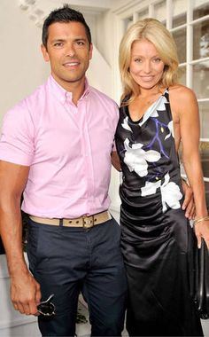 Mark Consuelos & Kelly Ripa in All My Children from From Co-Stars to Couples