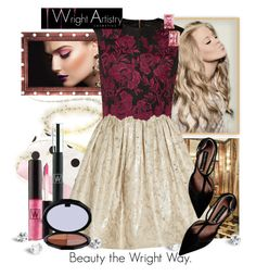 """""""Wright Artistry Cosmetics"""" by sierraday ❤ liked on Polyvore featuring Forever 21, Primp, Alice + Olivia, Ted Baker, Steve Madden, Betsey Johnson, women's clothing, women, female and woman"""